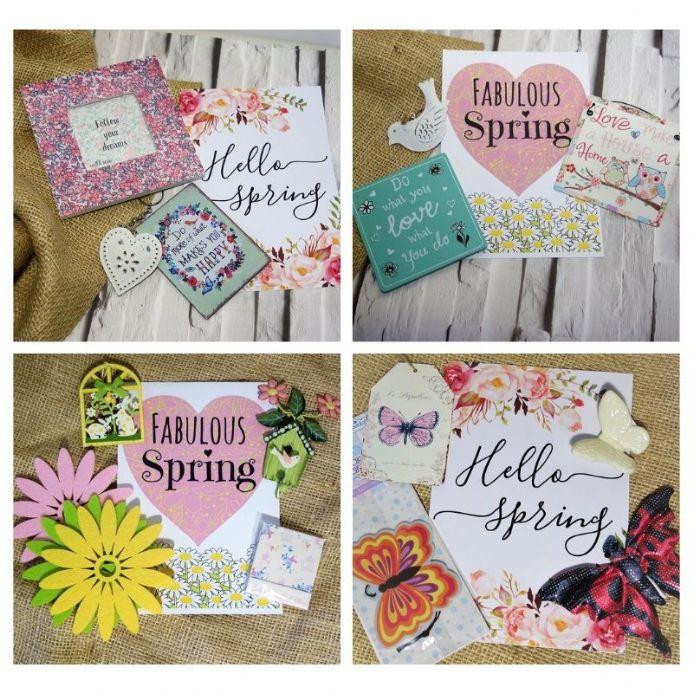 Surprise Spring boxes in 3 sizes!